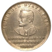 Illinois State Fair Token – obverse