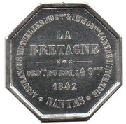 Token - Assurances La Bretagne – reverse
