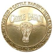 1 Dollar Gaming Token - Cattle Baron (Henderson, Nevada) – obverse