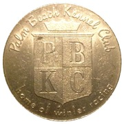 50 Cents - Palm Beach Kennel Club – obverse