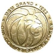 1 Dollar Gaming Token - MGM Grand (Las Vegas) – obverse