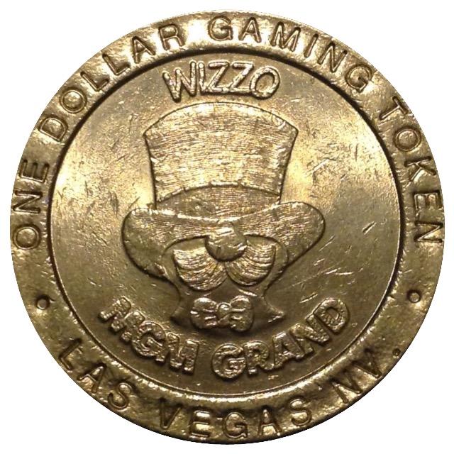 1 Dollar Gaming Token Mgm Grand Las Vegas Tokens