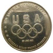 Token - Atlanta 1996 US Olympic Team, General Mills Sponsor (Volleyball) – reverse