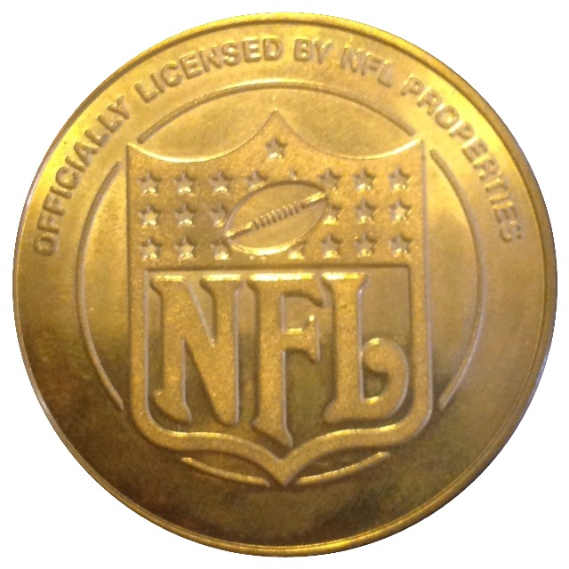 100 year nfl coin