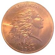 Token - Blue Ridge Numismatic Association – obverse