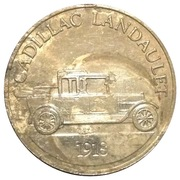 Token - Sunoco Antique Car Coin Series 1 (Cadillac Landaulet; Instant Winner) – obverse