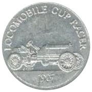 Token - Sunoco Antique Car Coin Series 1 (Locomobile Cup Racer) – obverse