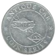 Token - Sunoco Antique Car Coin Series 1 (Locomobile Cup Racer) – reverse