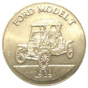Token - Sunoco Antique Car Coin Series 1 (Ford Model T) – obverse