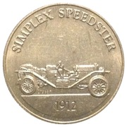 Token - Sunoco Antique Car Coin Series 1 (Simplex Speedster) – obverse