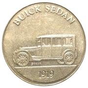Token - Sunoco Antique Car Coin Series 1 (Buick Sedan) – obverse