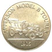 Token - Sunoco Antique Car Coin Series 1 (Apperson Model B Tourer) – obverse