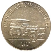 Token - Sunoco Antique Car Coin Series 1 (Pierce Arrow Model 66) – obverse