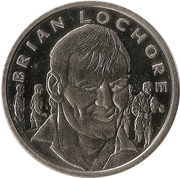 Token - 15 Great All Blacks (Brian Lochore) – obverse