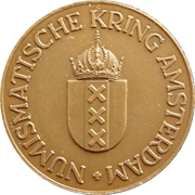 Numismatische Kring Amsterdam – obverse