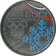 Kremnica Mint Token (Sochi Olympics) – obverse