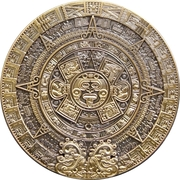 Medal - Maya Civilization – reverse