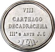 Token - Restaurants Quick (VIII - Carthago Decadrachma) – reverse