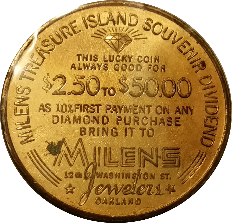 Golden Gate International Exposition Coin Treasure Island