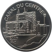 Token - World Heritage (Canal du centre) – obverse