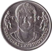 Official Lithuanian Basketball Players Medal Collection (Kšištofas Lavrinovičius) – obverse