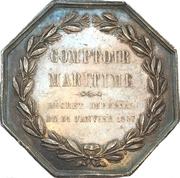Token - Maritime insurance Le Comptoire Maritime – reverse