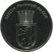 Token - Berlin (Manhmal Unter den Linden) – reverse