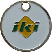 Shopping Cart Token - iki – obverse