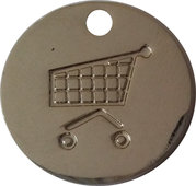 Shopping Cart Token - iki – reverse