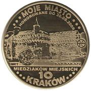 10 Miedziaków miejskich (Kraków) – obverse