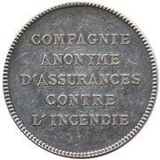 Token - Assurance Le Monde Incendie – reverse