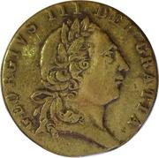 Spade guinea imitation George III – obverse