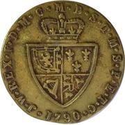 Spade guinea imitation George III – reverse