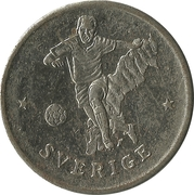 Token - FIFA World Cup 1990 (Sweden) – obverse