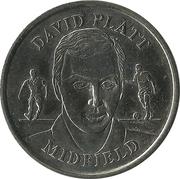 Token - Official England Squad 1996 (David Platt) – obverse