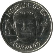 Token - Sainsbury's Official England Squad 1998 (Michael Owen) – obverse