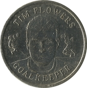 Token - Sainsbury's Official England Squad 1998 (Tim Flowers) – obverse