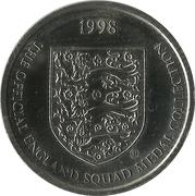 Token - Sainsbury's Official England Squad 1998 (Graeme Le Saux) – reverse
