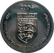 Token - Official England Squad 2004 (John Terry) – reverse