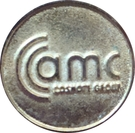Token - AMC Cosmote (New Year 2006) – obverse