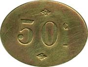 50 Centimes - Société Coopérative Altayrac – reverse