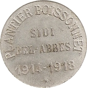 10 Centimes (Sidi Bel-Abbes) – obverse