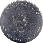 Token - Heroines of the Patria Grande (María Remedios del Valle) – obverse