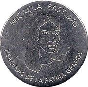 Token - Heroines of the Patria Grande (Micaela Bastidas) – obverse