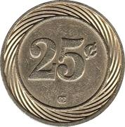 25 Centavos - Casino Iguazu – reverse