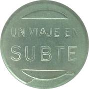 Metro Token - Subte SBA (Buenos Aires) – reverse