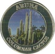 Token - Aruba Columnar Cactus – obverse