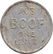 1 Unit - ACS BCOF – obverse