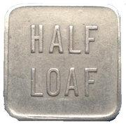 Bread Token - Half Loaf, Broken Hill Co-Operative Society Limited – reverse