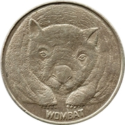 Token - TNT Darling Harbour Monorail (Wombat) – obverse